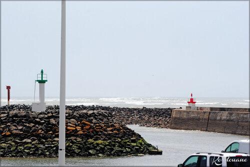 Photo de l'entrée du port de la Cotinière (Oléron)