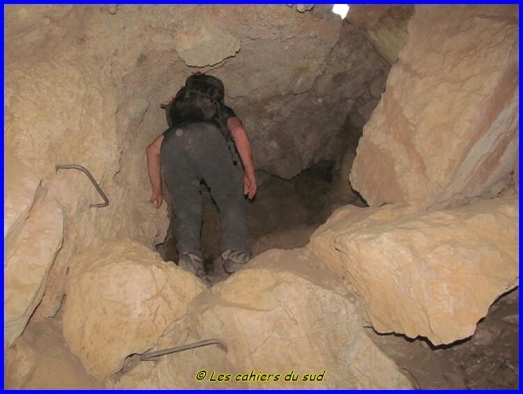 Destel les grottes du haut St Martin