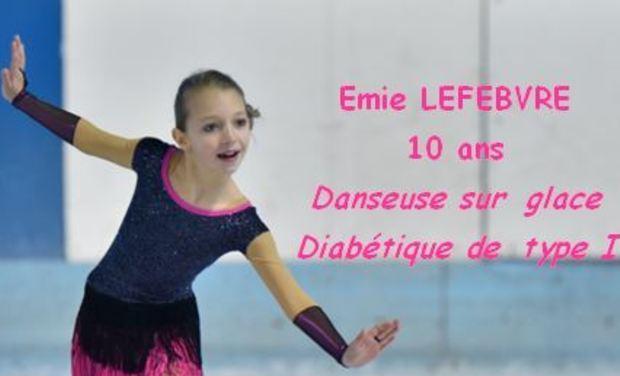 Visuel du projet Un Podium aux Championnat de France de Danse sur glace 2018