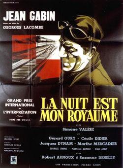 LA NUIT EST MON ROYAUME - BOX OFFICE JEAN GABIN 1951