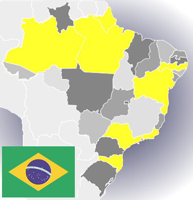 FRED'S BRAZIL MAP