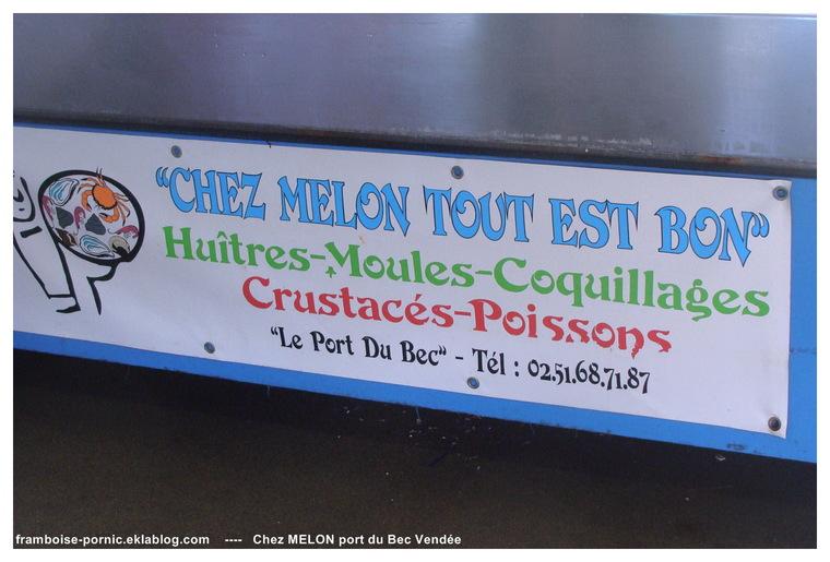 Marais breton et le port du bec