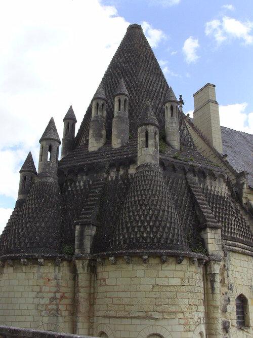 Les cuisines romanes de l'Abbaye Royale de Fontevraud