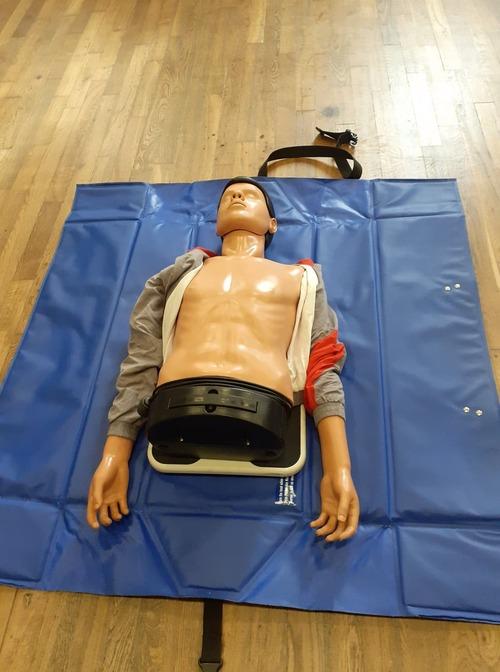 Information sur le fonctionnement d'un défibrillateur.