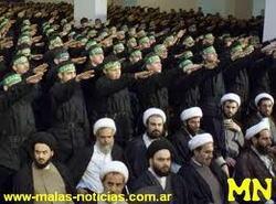 Iran des mollahs enturbannés.