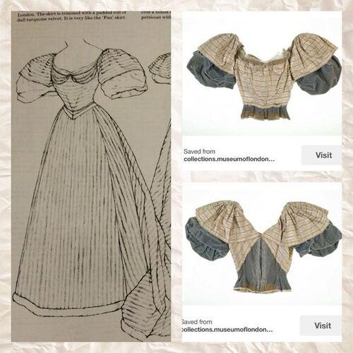 Robe Papillons d'inspiration Woerth - Butterflies dress