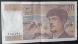billets de 20 francs Berlioz
