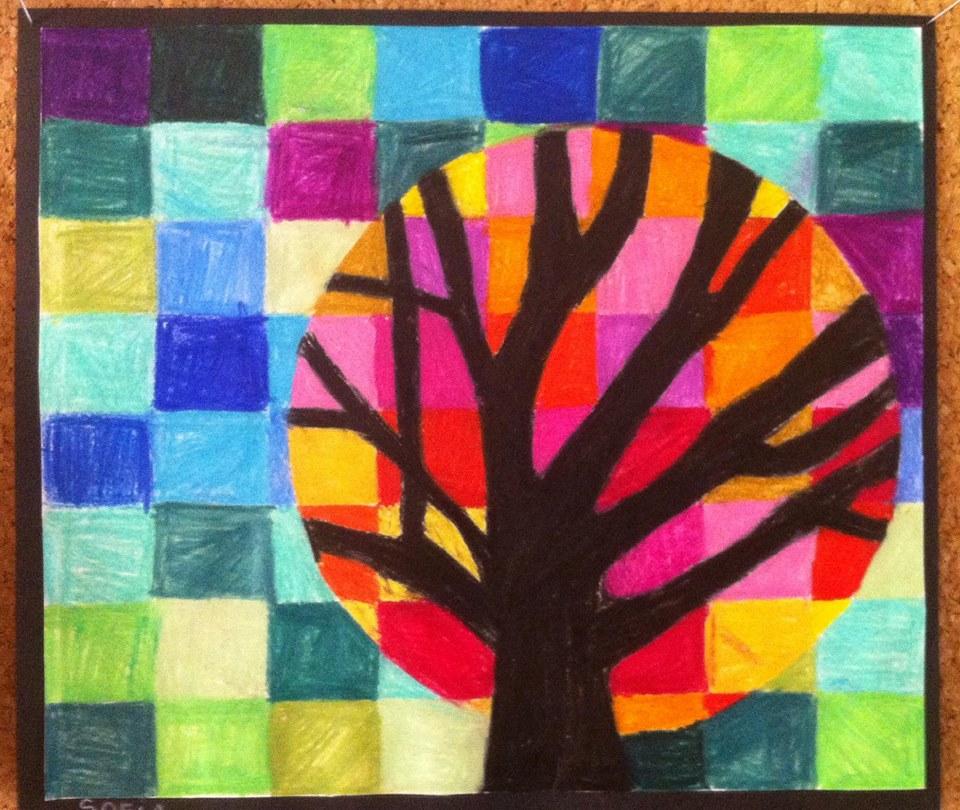 Suite du cercle chromatique - couleurs chaudes /froides - Chez ...