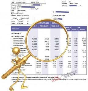 """Résultat de recherche d'images pour """"Feuille de paie Cotisation chômage Image"""""""