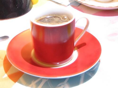 1er café ...