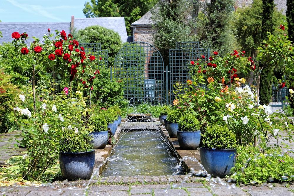 Les roses du Jardin Andalou