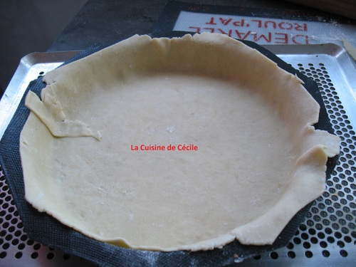 Tarte Poires - Chocolat