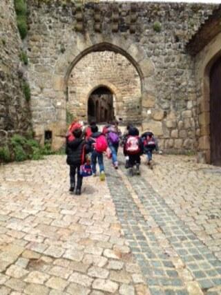 Sortie à Saint-Bonnet le château des CP.A et CP.B