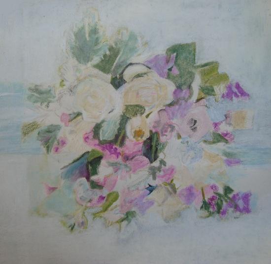 Fleurs blanc