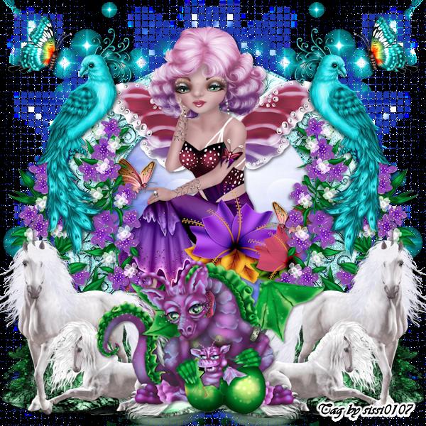 "Blog Train ""Unicorn Dreams"""