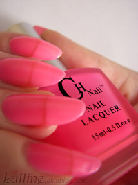 CNails - Rose fluo phosphorescent