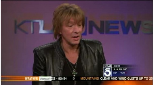 Richie Sambora stops by to chat about his new album