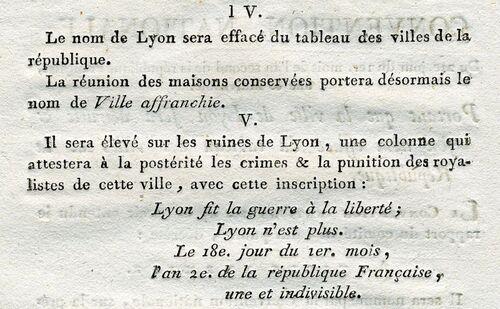 Les fusillades de Lyon