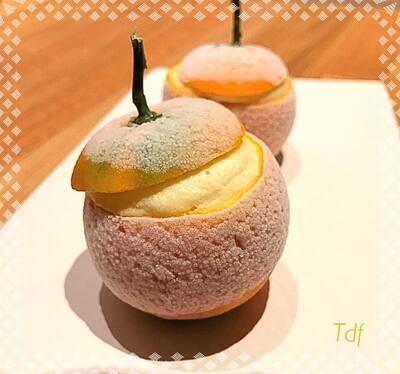 Mandarine givrée
