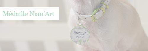 Médaille pour chien personnalisée Atoodog - Howard le chichi blog