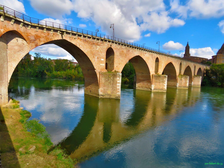 pont à Montauban en reflets