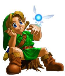 Young Link & Navi - <i>Ocarina of Time 3D</i>