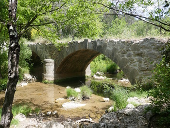 Et nous voici arrivés au pont de Cassède