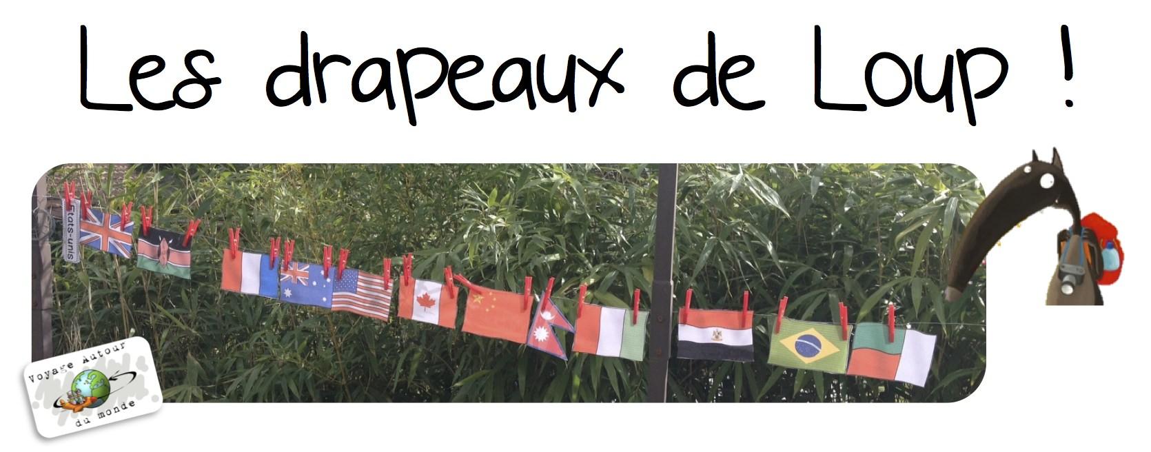 article les drapeaux de Loup