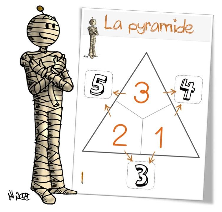 Jeu La Pyramide Des Additions Bout De Gomme