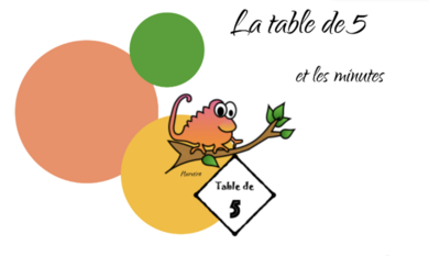 table de 5 interactive