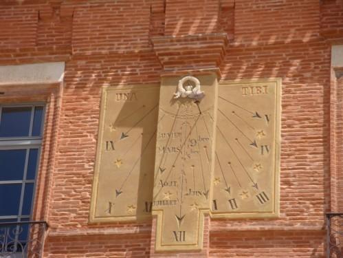 cadran solaire Place Nationale