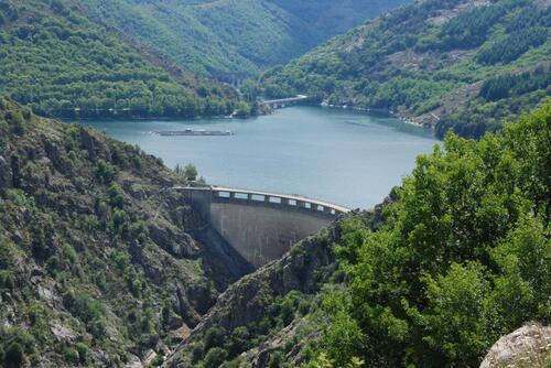 Le barrage de Villefort