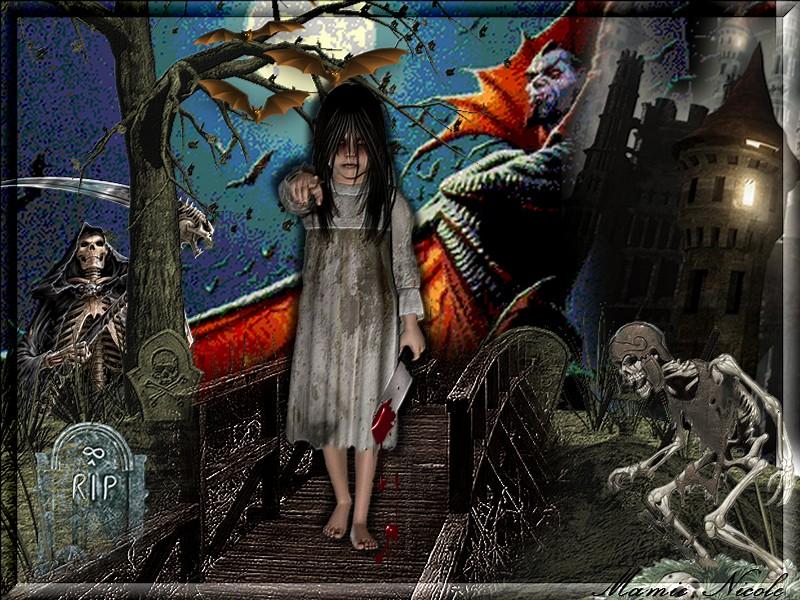 ♥♥ bonne nuit d'halloween ♥♥