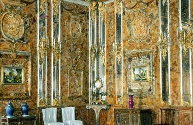 Le mystère de la chambre d'ambre ...