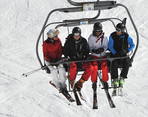 Kate et William au ski