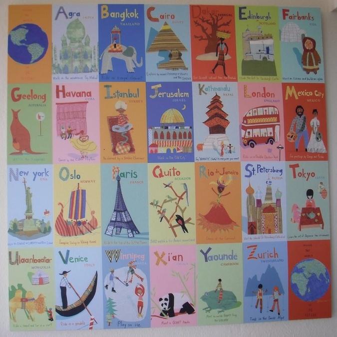 Alphabet de géographie