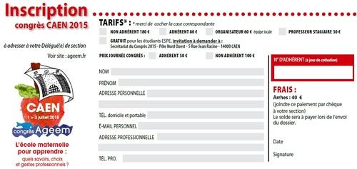Guide de réflexion pour le congrès de Caen