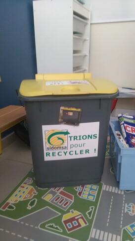 Je trie mes déchets