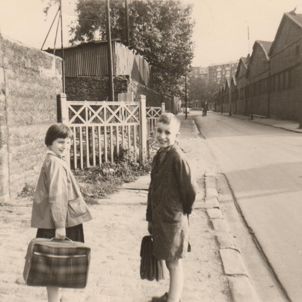1960... C'était rue d'Aubervilliers, dans le 18ème parisien !