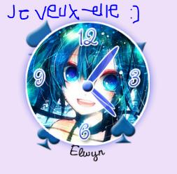 Mettre une Horloge sur votre Blog :)