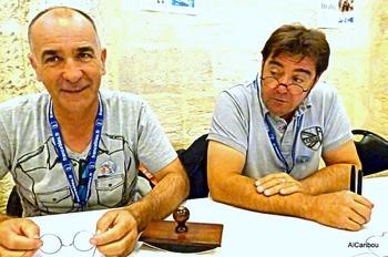 Philippe Couteau et Ludovic Nadeau