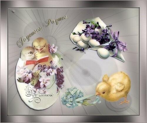 Poème pour souhaiter de Joyeuses Pâques