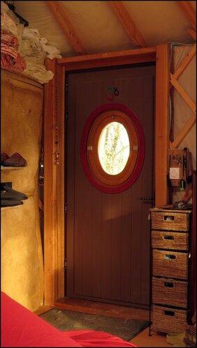 La porte d'entrée de Hobbit