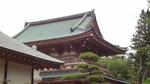 Temple et hortensia