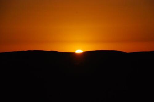Le soleil apparaît