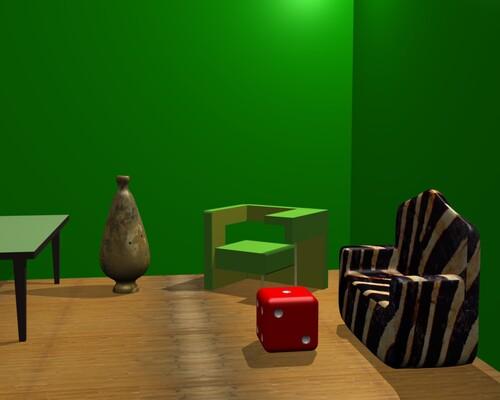Des objets créés avec Blender 3D