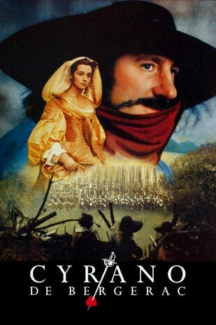 Résultat d'images pour Affiche du film Cyrano de Bergerac avec Depardieu et Anne Brochet