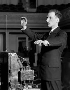Scie musicale, Theremin