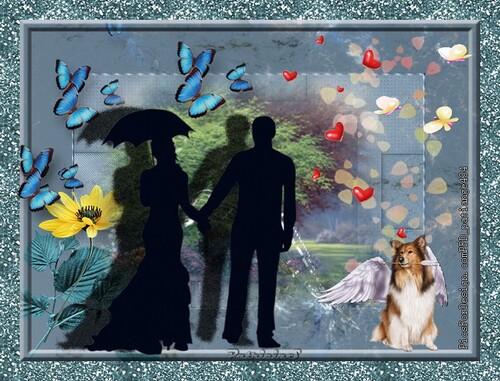 """Vos magnifiques créations """"Les ailes de l'amour"""""""