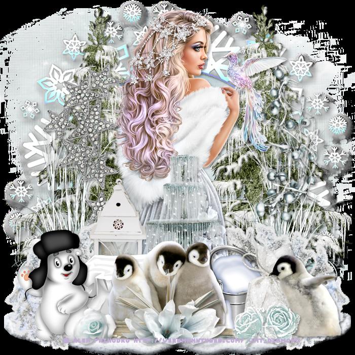 Défi hiver au jardin des copines